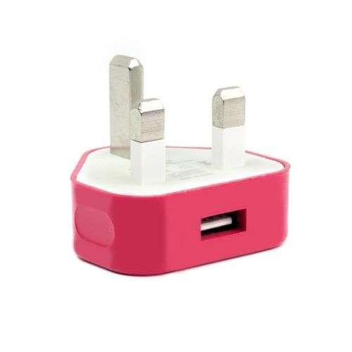Rose Red 5V 1A charger UK Plug