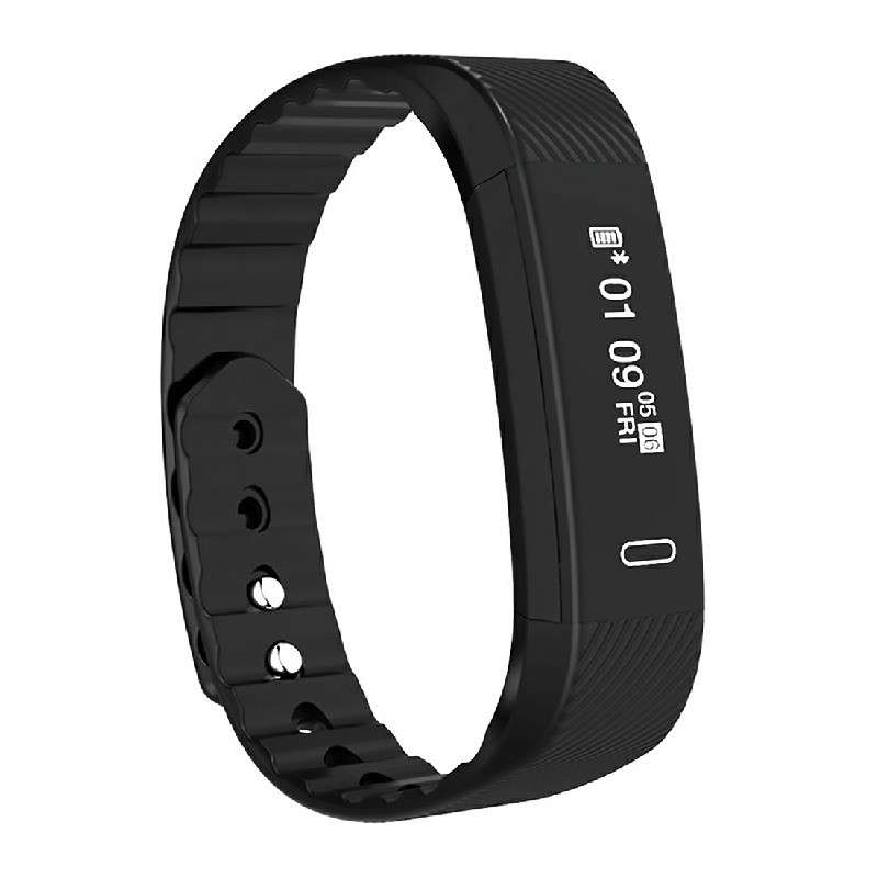 Black Bluetooth Smart Sport Bracelet Wrist Watch Touch Screen for iOS Android