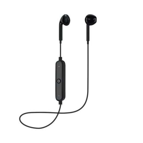 Sports Headphones Bluetooth Earbuds with Mic Sport - Black